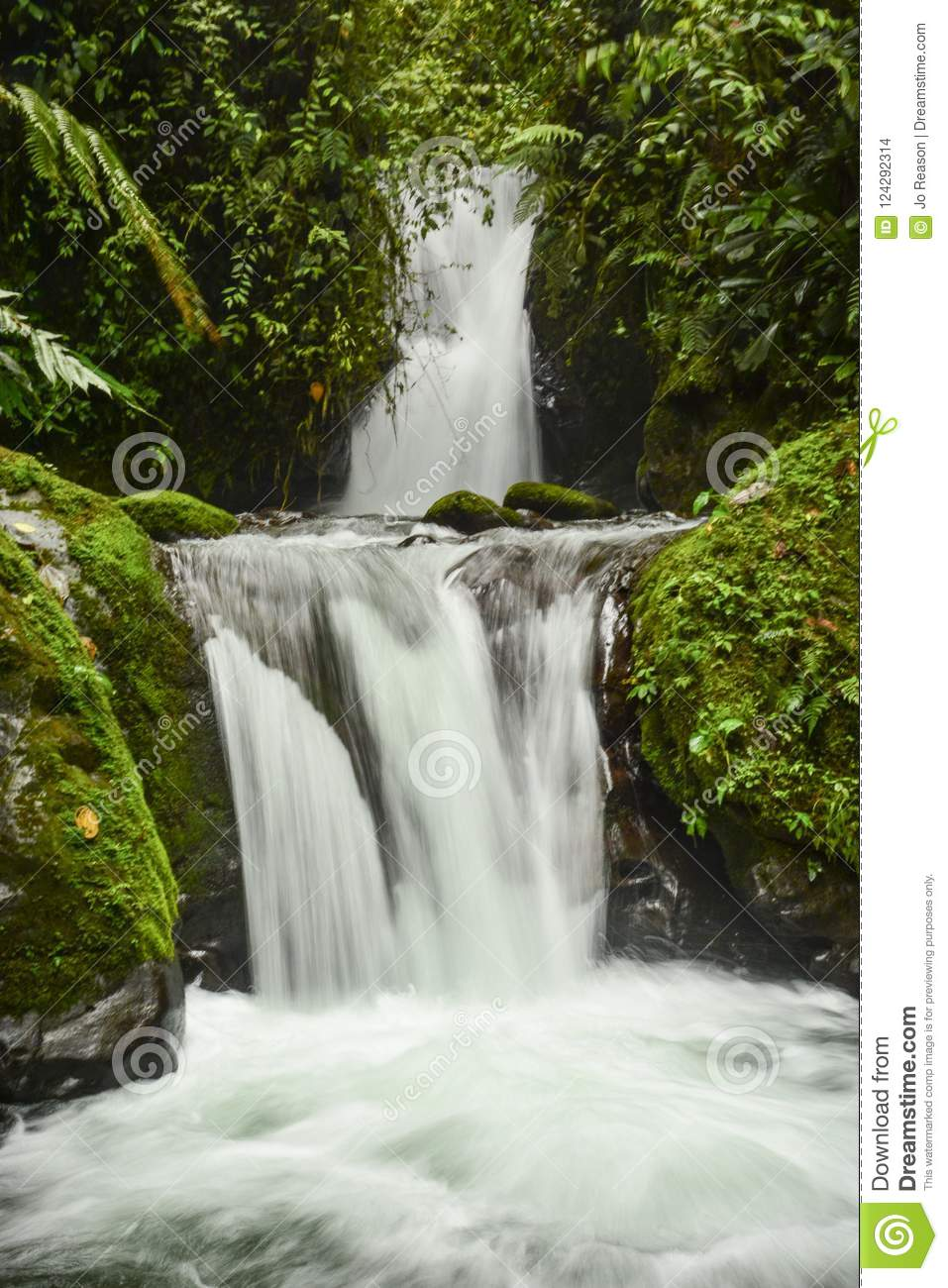 Double Waterfall, slow motion