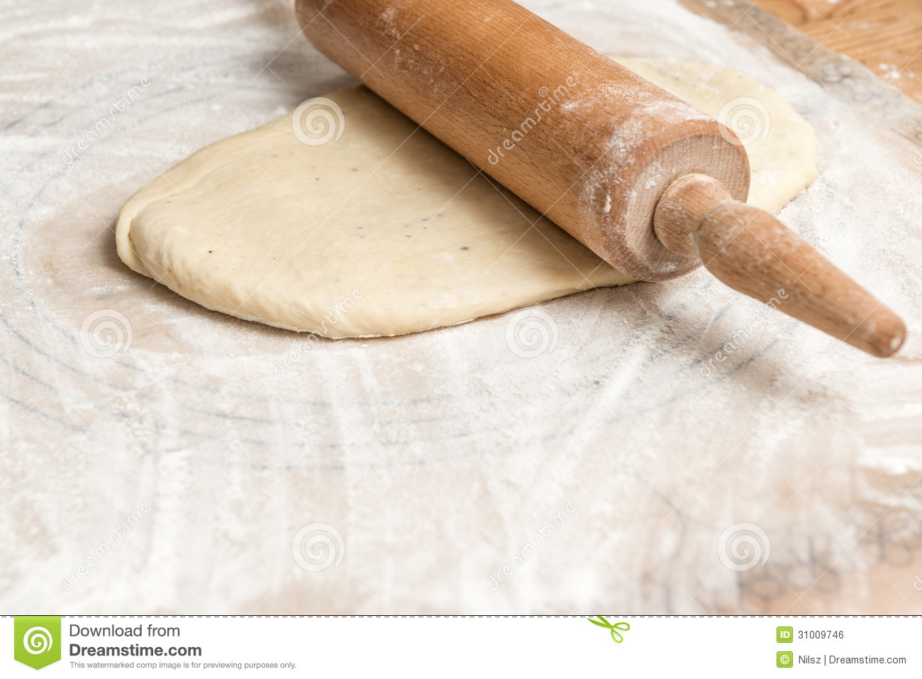 Dough Roller Royalty Free Stock Image - Image: 31009746