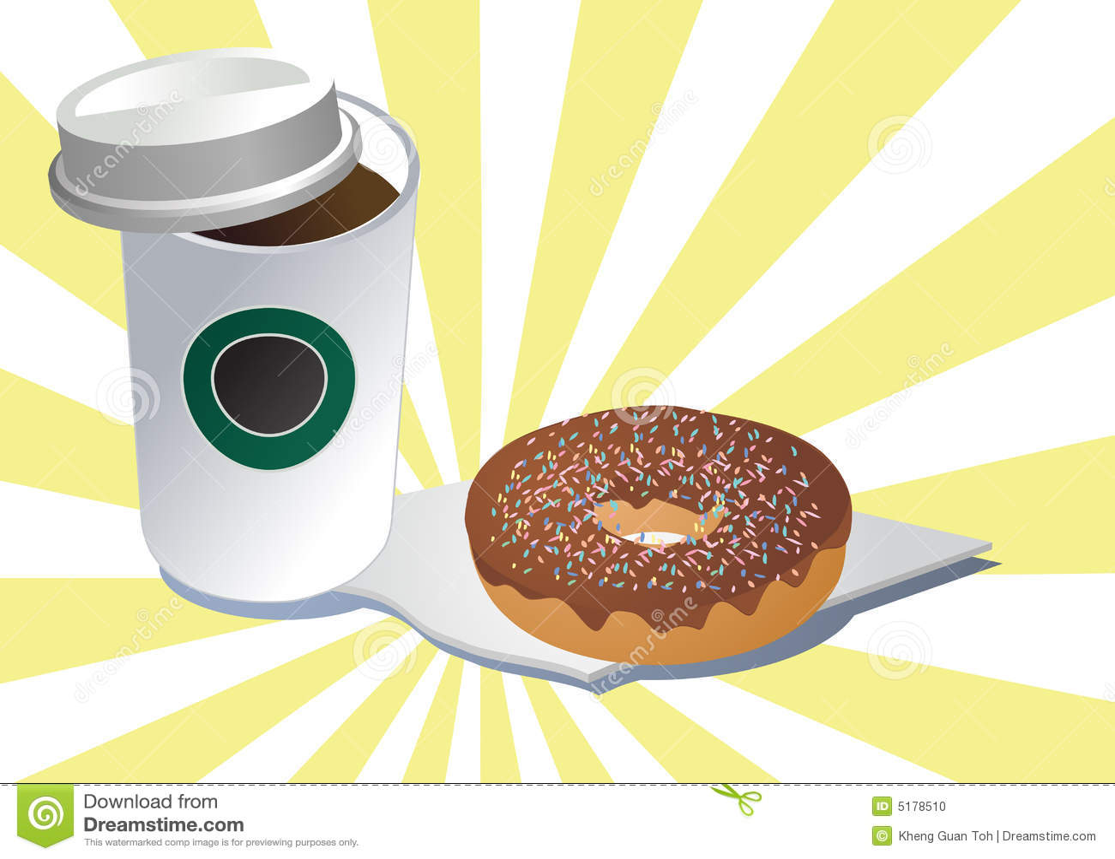 Doughnut καφέ