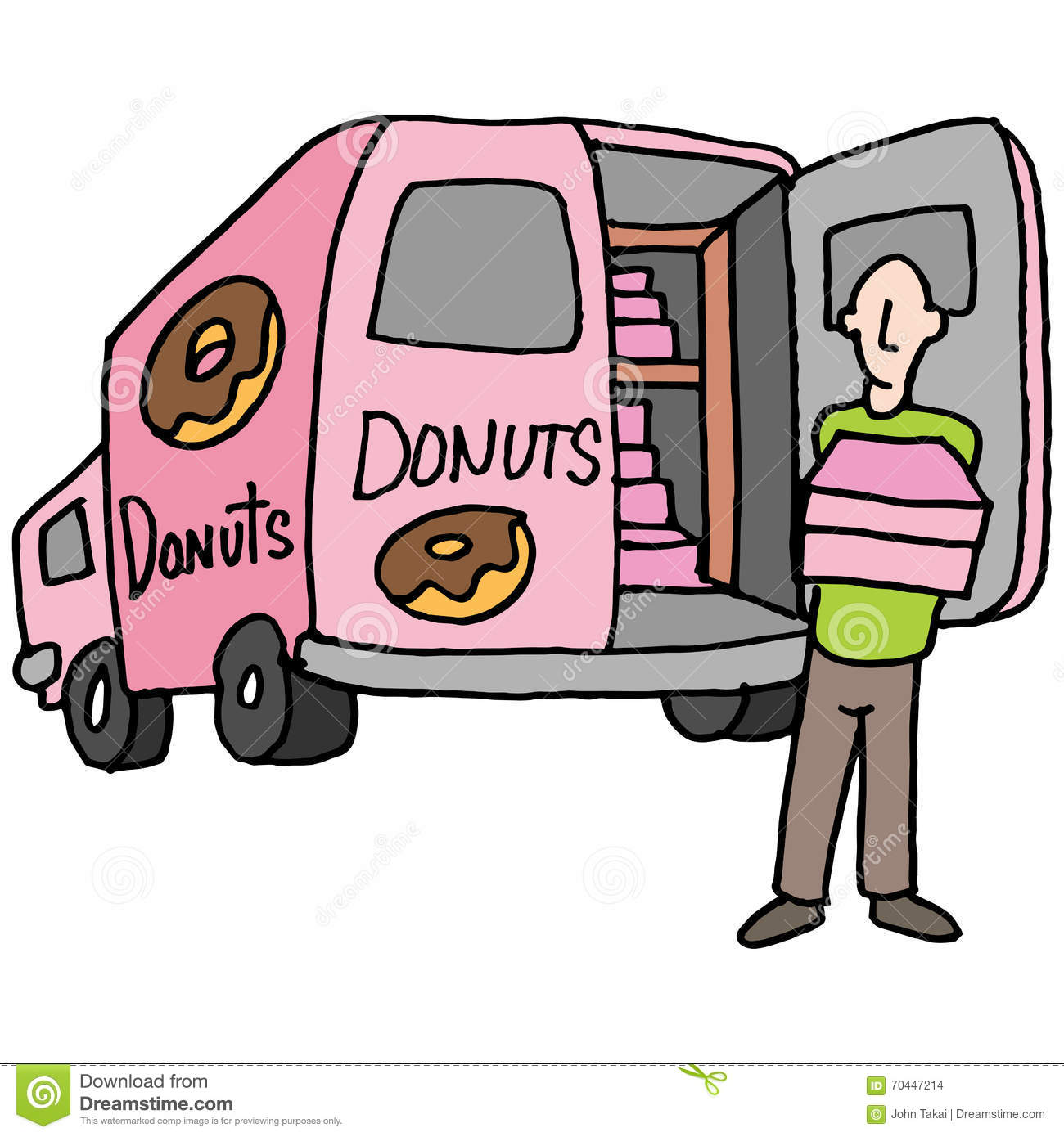 delivery driver clip art - photo #15