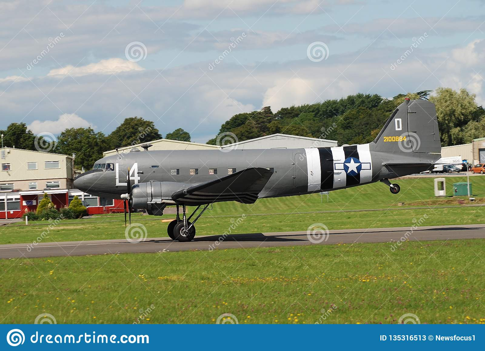 Dakota C47A aircraft