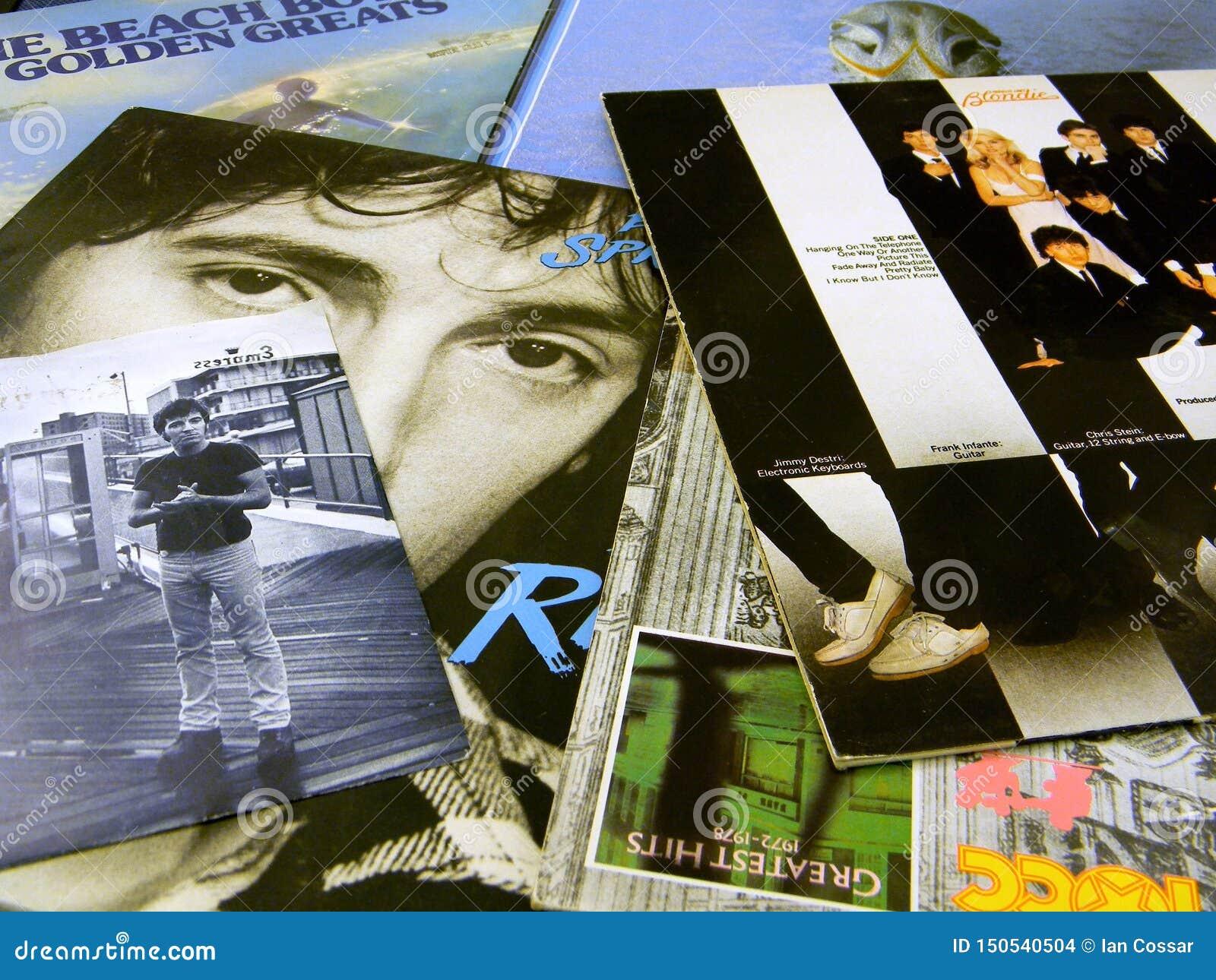 Douilles de disque vinyle Springsteen