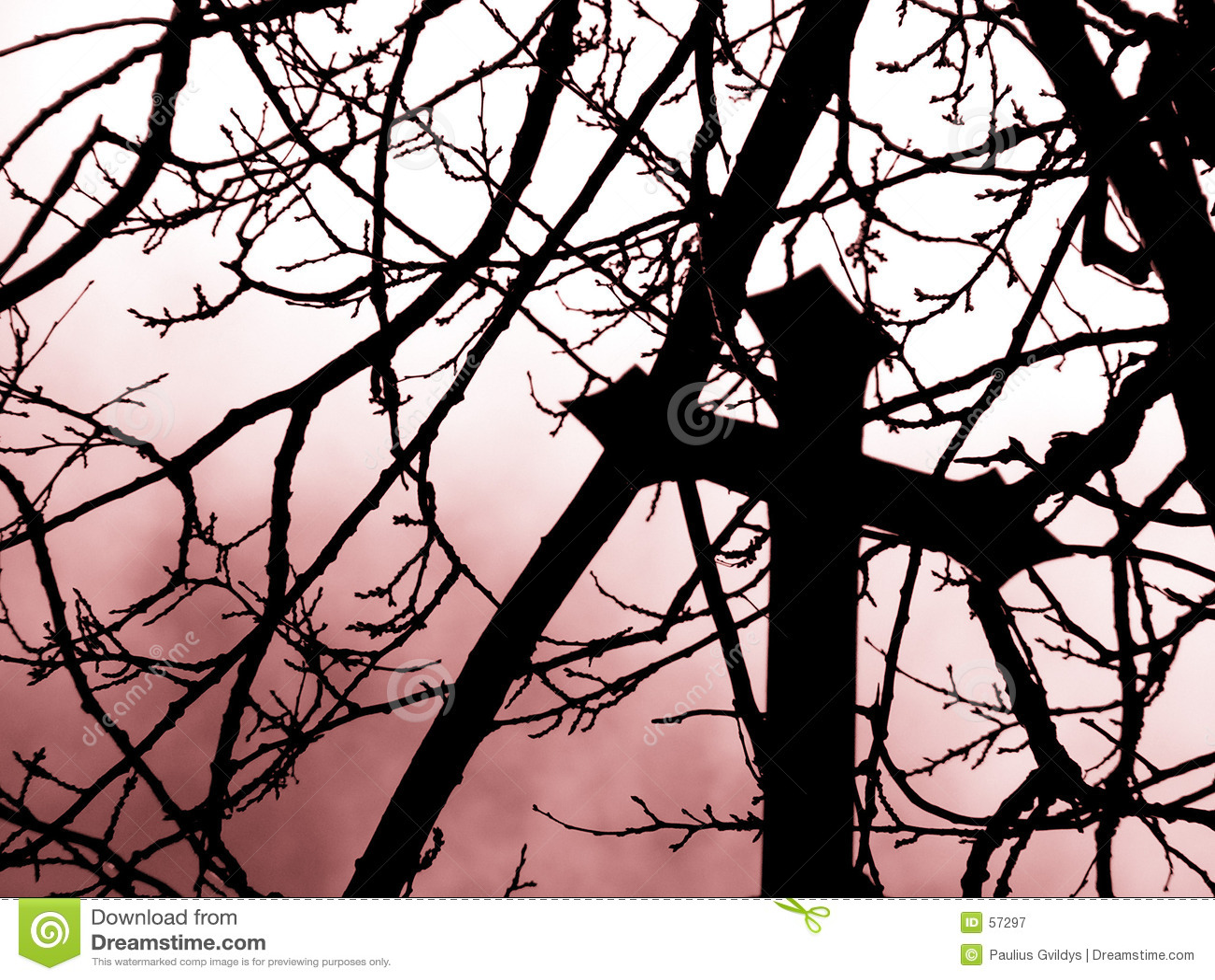 Download Douleur image stock. Image du ciel, branchement, perte, golgotha - 57297