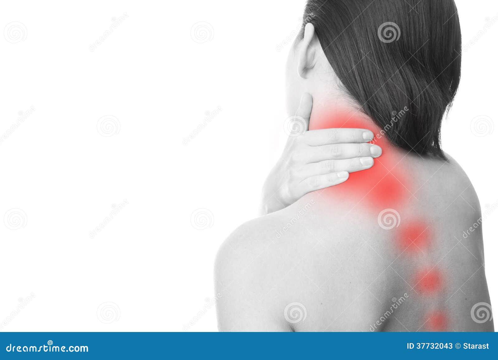 Douleur dans le cou des femmes