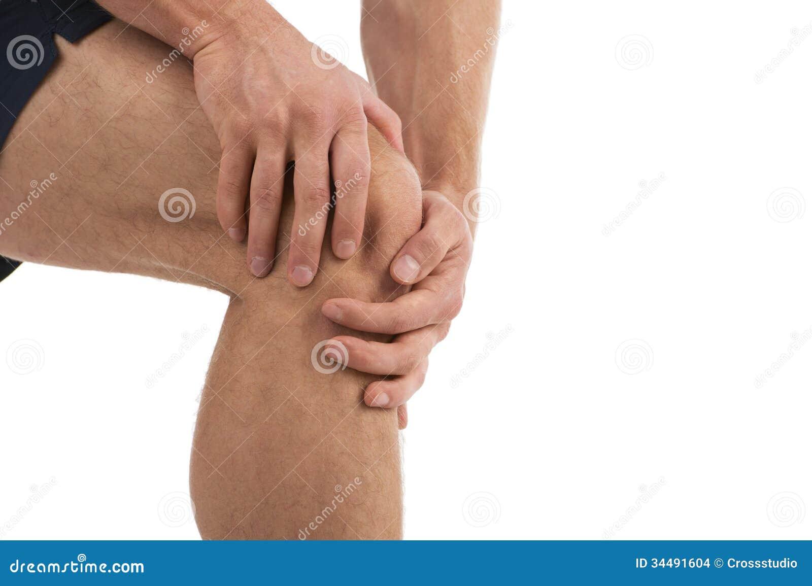 Douleur de genou.