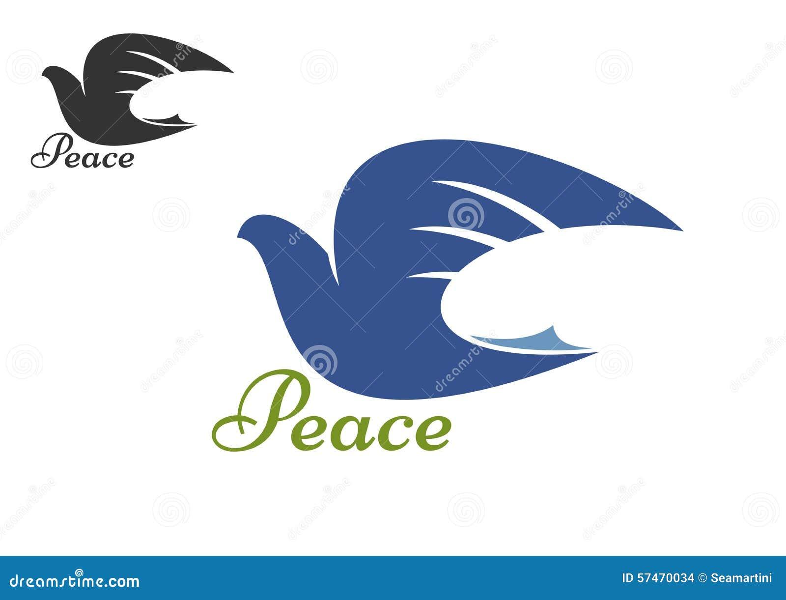 Dove bird peace sign - photo#32