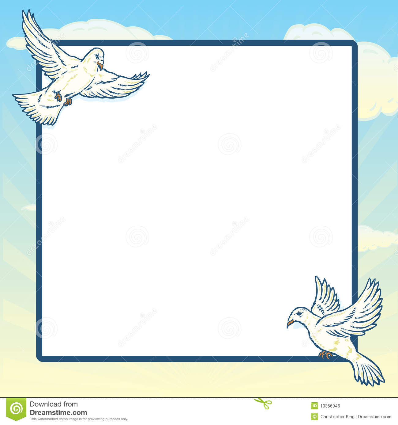 dove in flight frame design