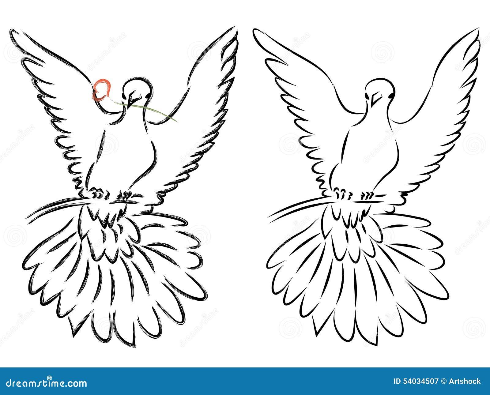 Сделать голубя из бумаги шаблоны формат а4