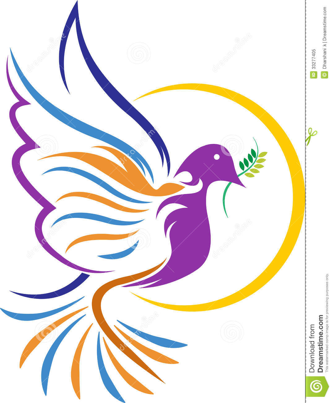 Star background vector download free vector art stock graphics - Dove Logo Royalty Free Stock Photo Image 33277405