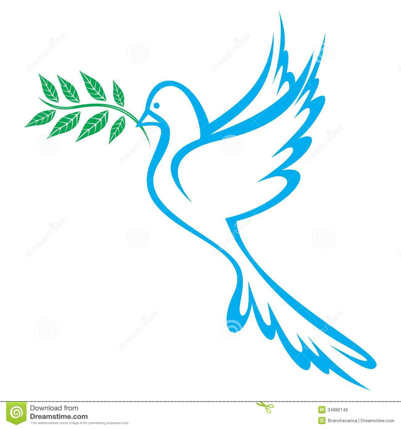 Dove Of Peace Royalty Free Stock Image - Image: 34880146