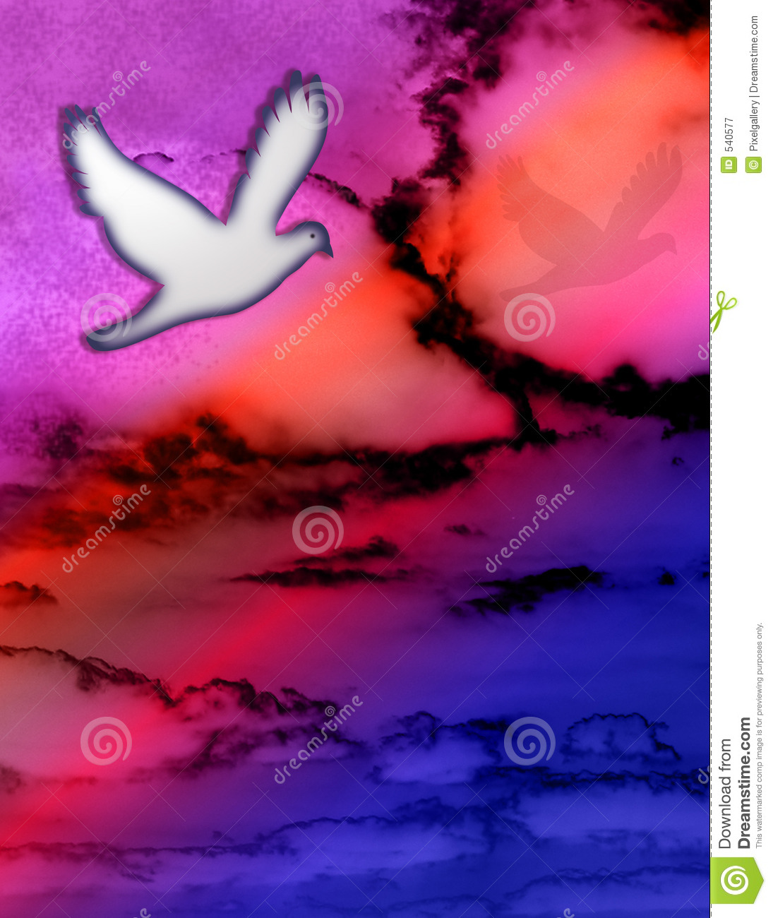 Dove and Sky