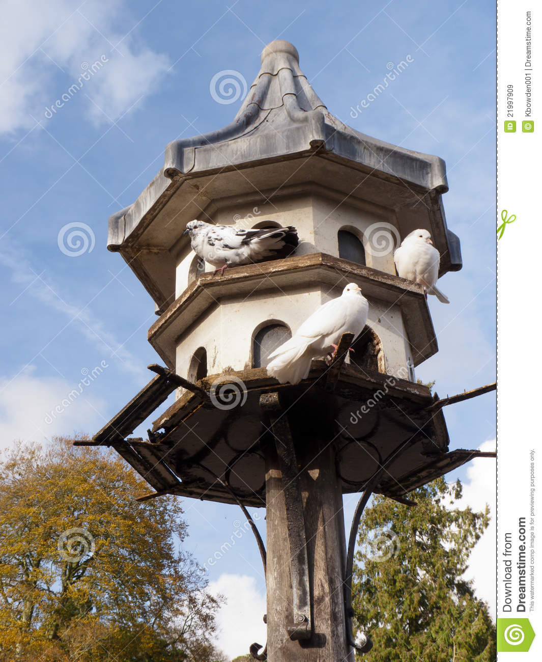 Dovecote At Killerton Court Royalty Free Stock Images