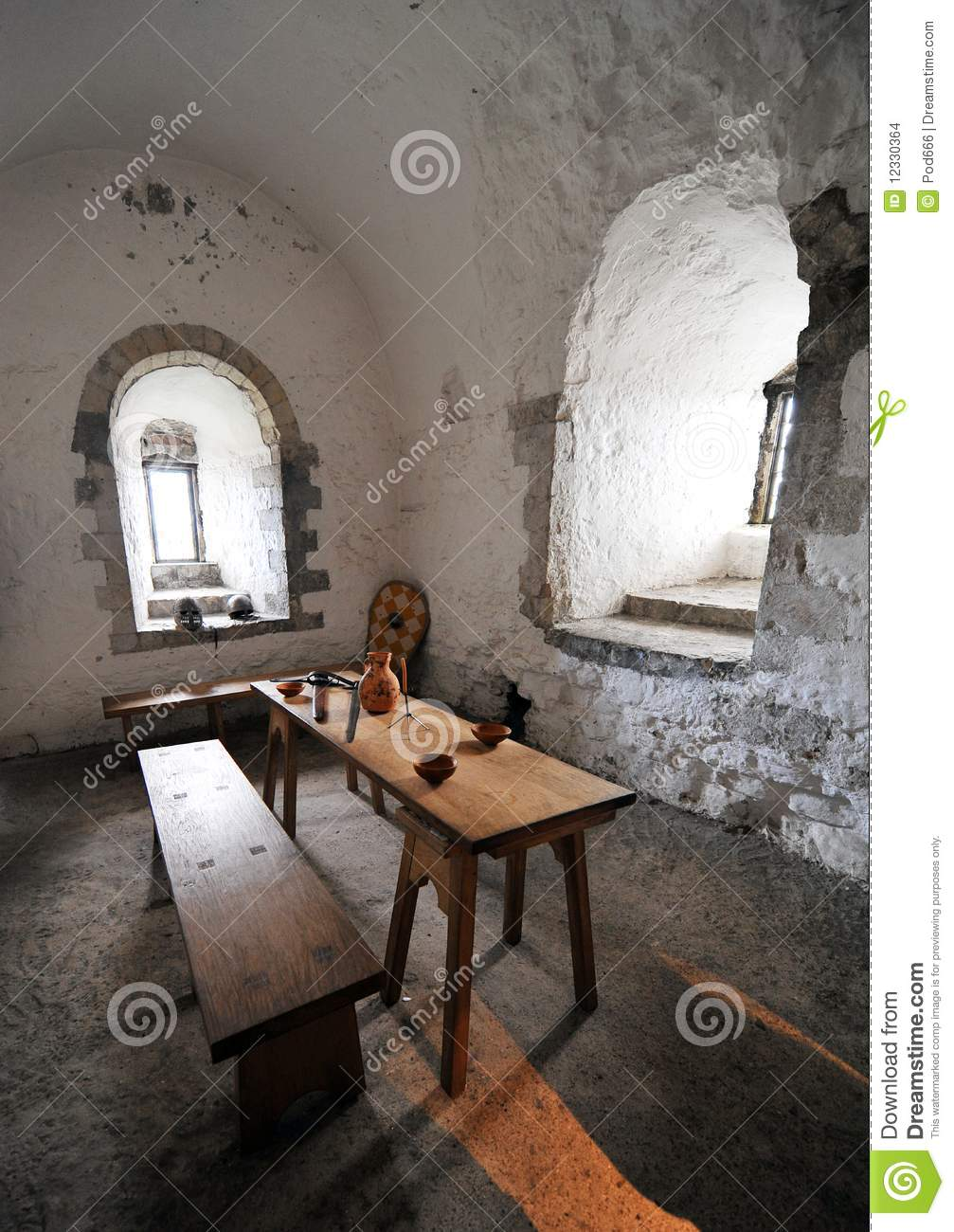 Dover Castle Keep Interior Stock Images - Image: 12330364