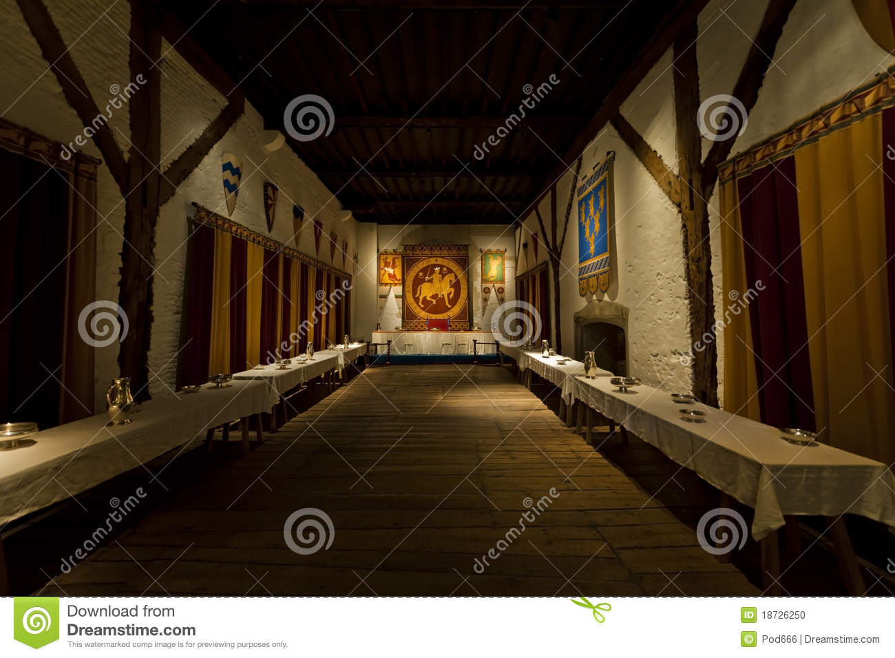 Dover castle kings dining room