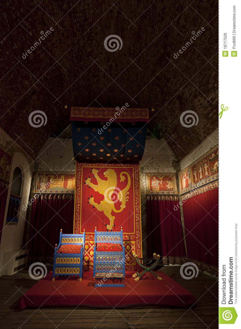 Dover castle kings throne room
