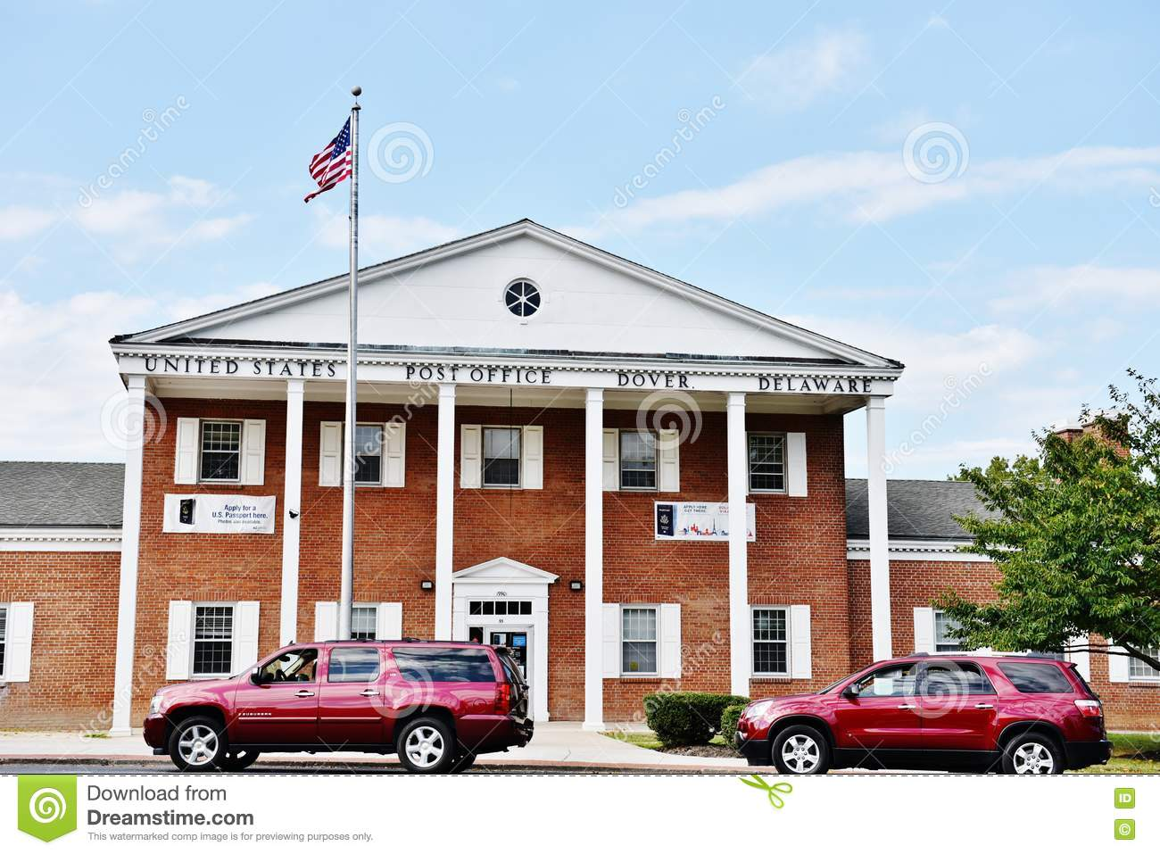 dover post office hours