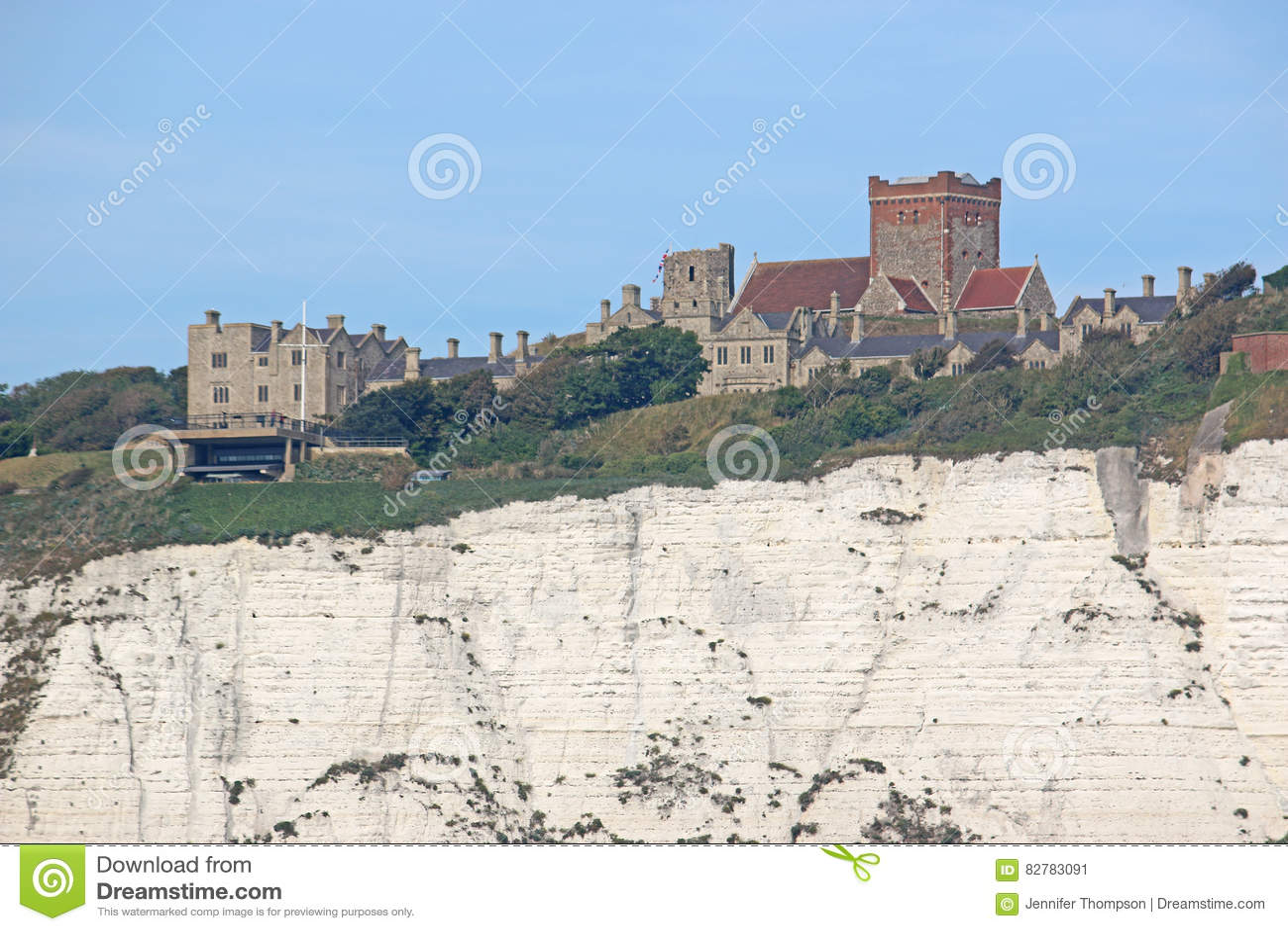 Dover slott, England