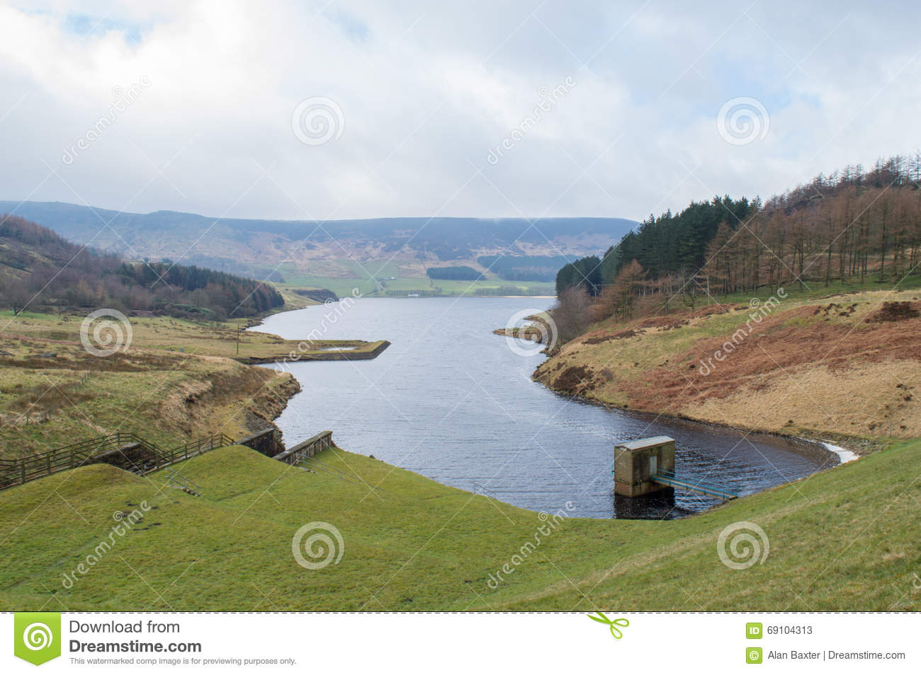 dovestone reservoir stock photo image 69104313 swan clip art png swan clip art images png