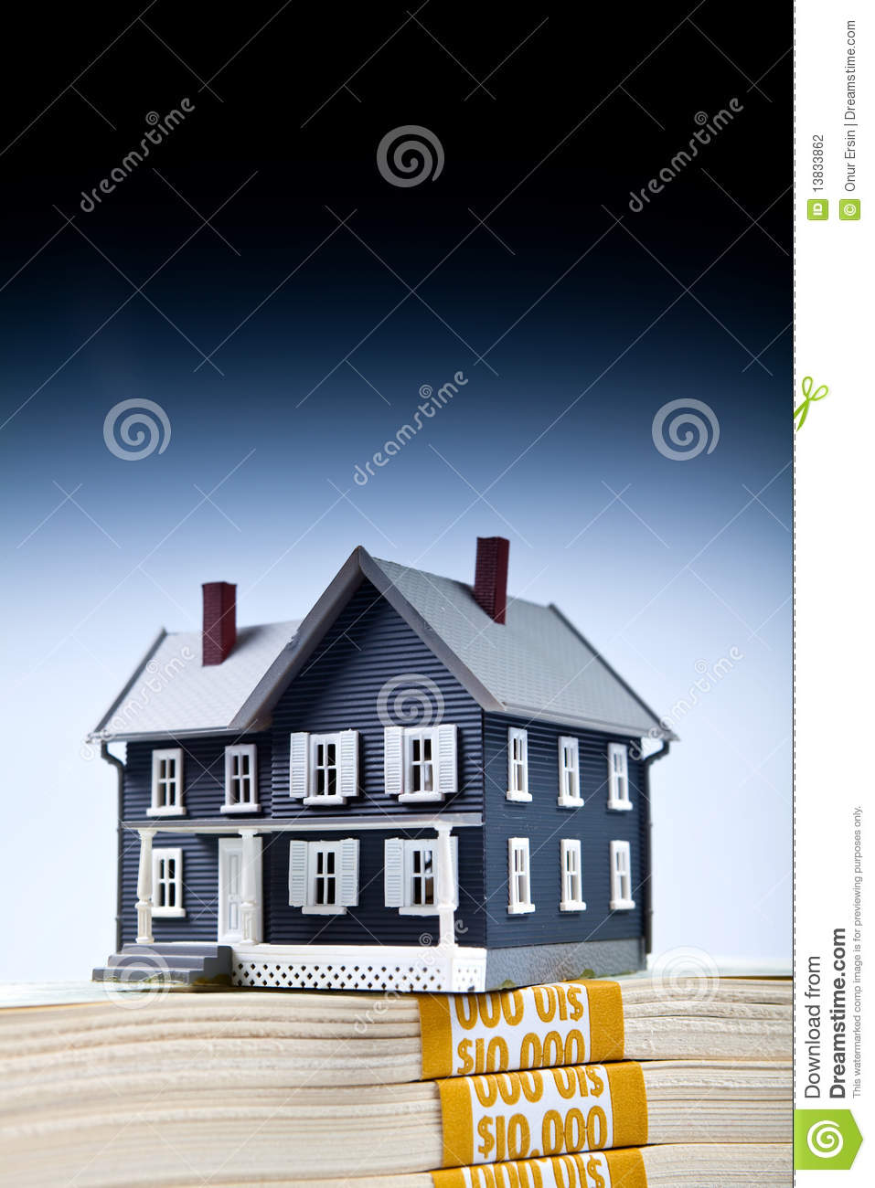 Down Payment For House Stock Photography Image 13833862