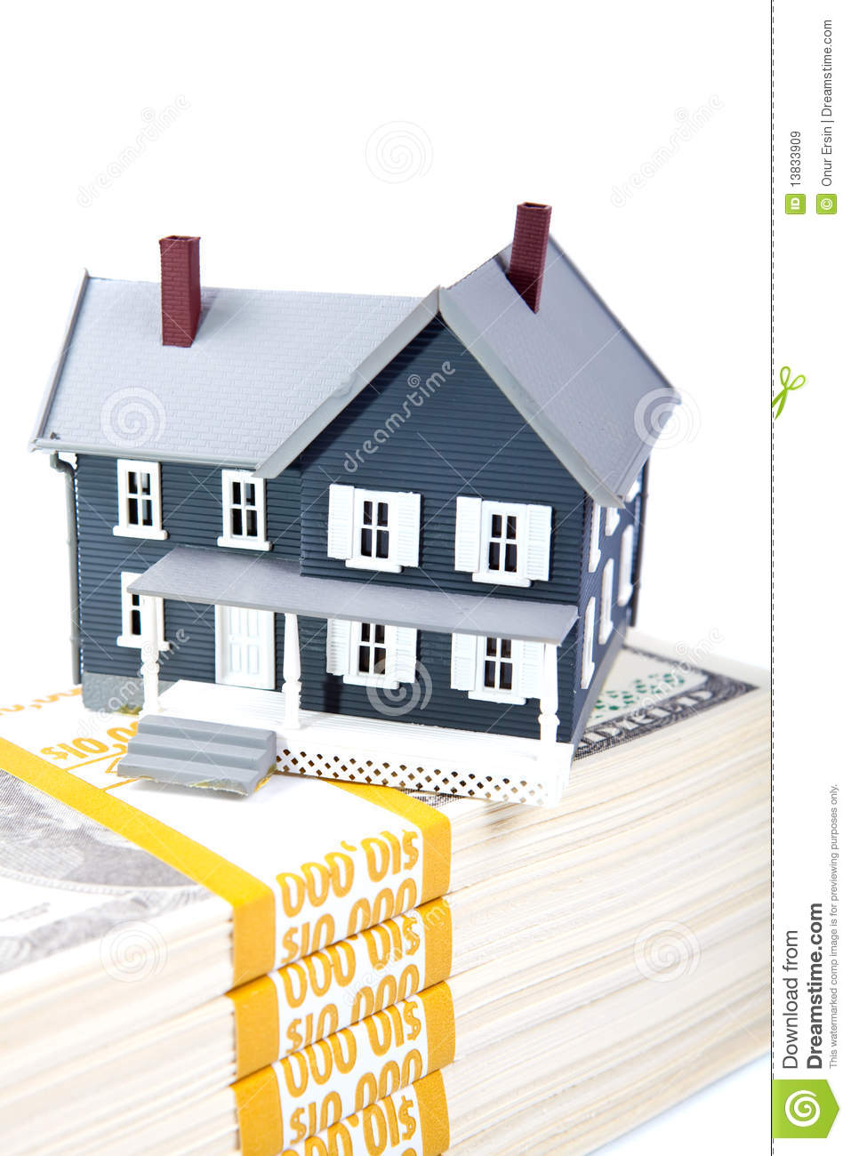 Down Payment For House Royalty Free Stock Images Image