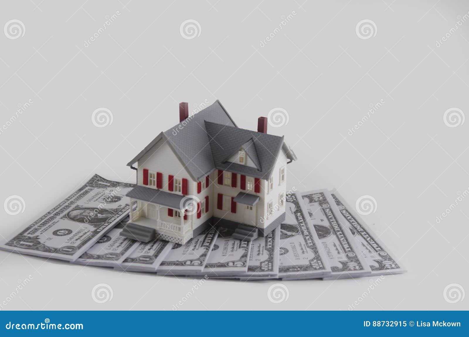 Down Payment On A House >> Down Payment On A House Stock Image Image Of Background