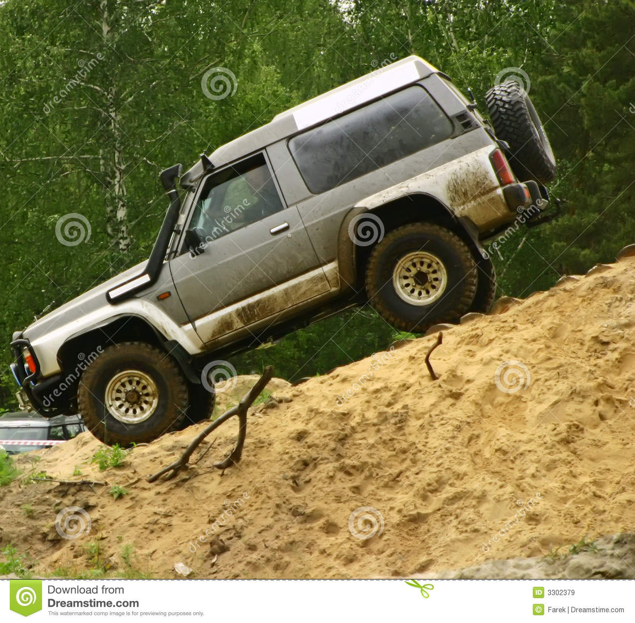 Download Downhill stock image. Image of dirt, course, extreme, accelerator - 3302379