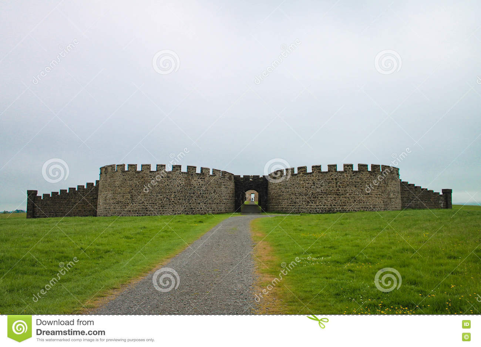The Downhill House, Downhill Demesne and Hezlett House, Castlerock, Northern Ireland