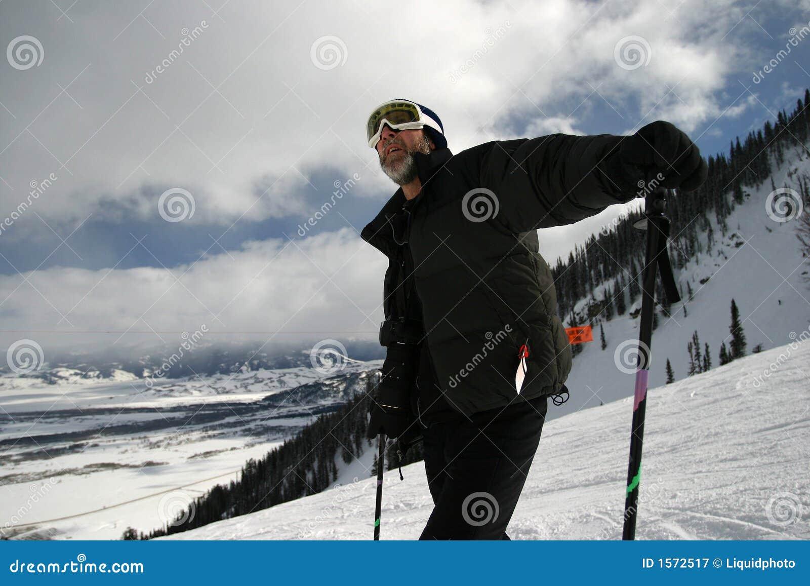 Downhill Skier Guy