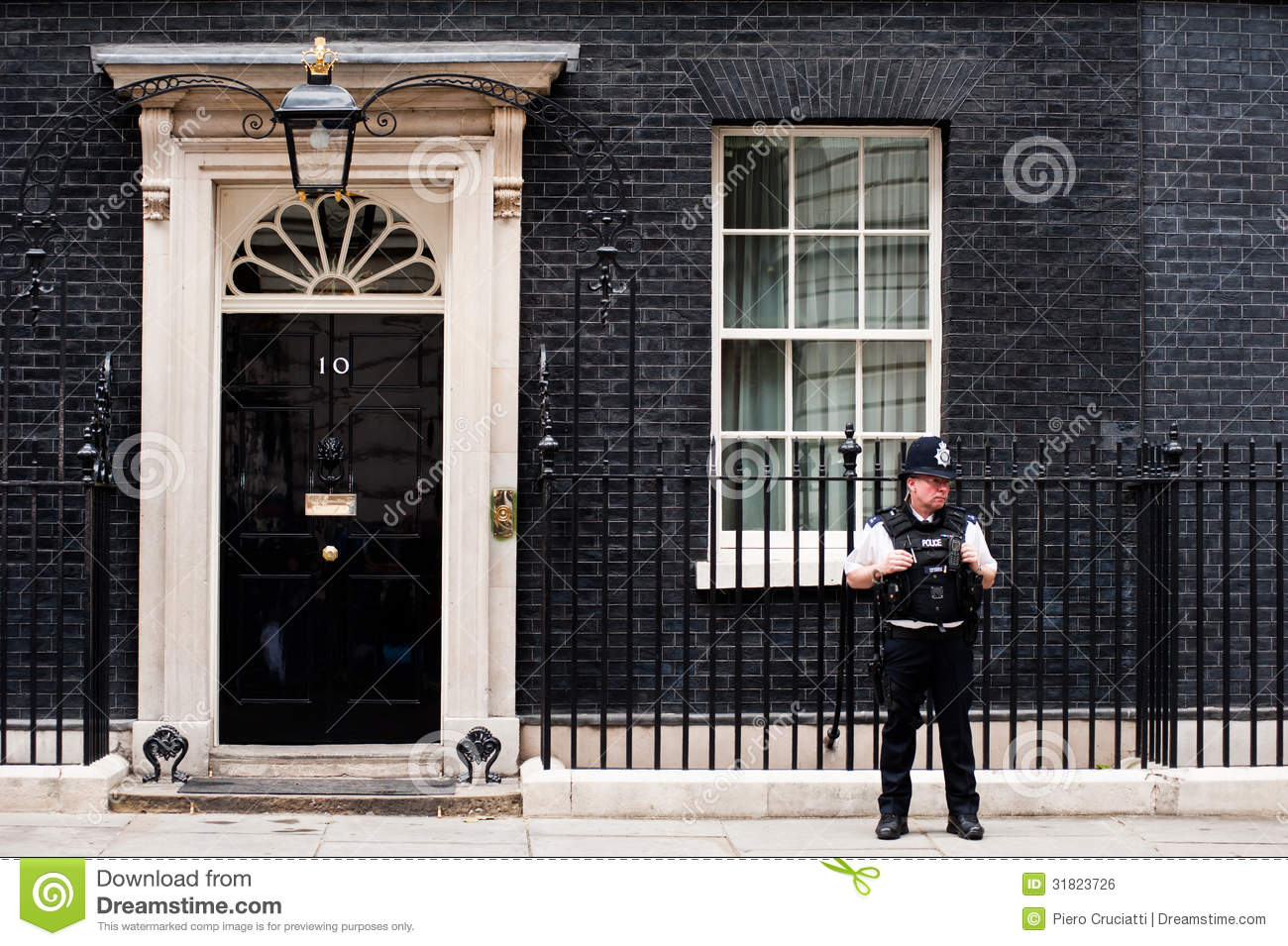 10 downing street in london editorial photo image of for Front door 10 downing street