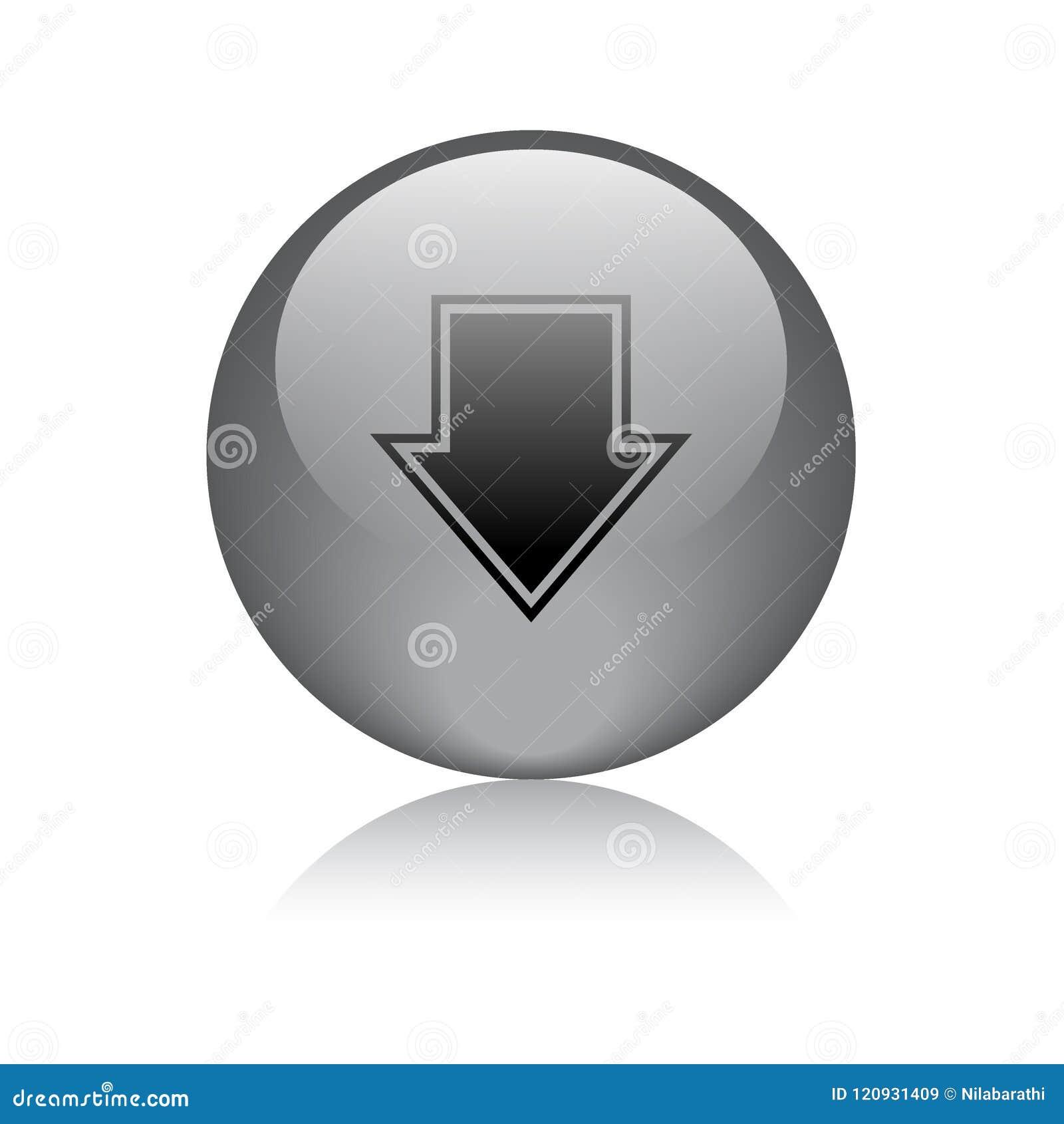 Download button black