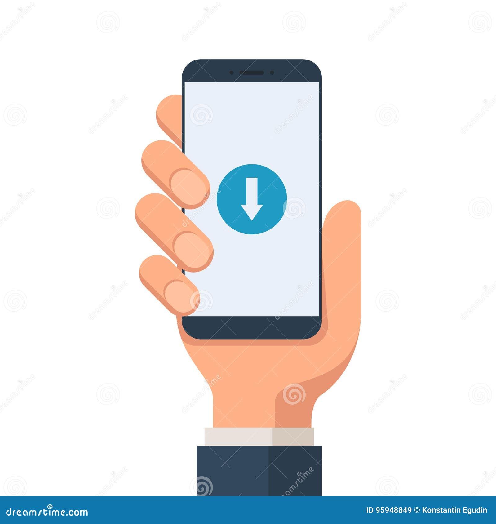 Download mobiel symbool