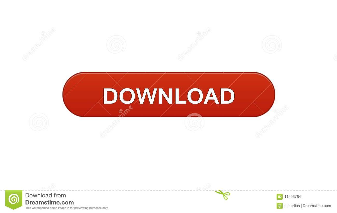 download web interface button win red color internet site design