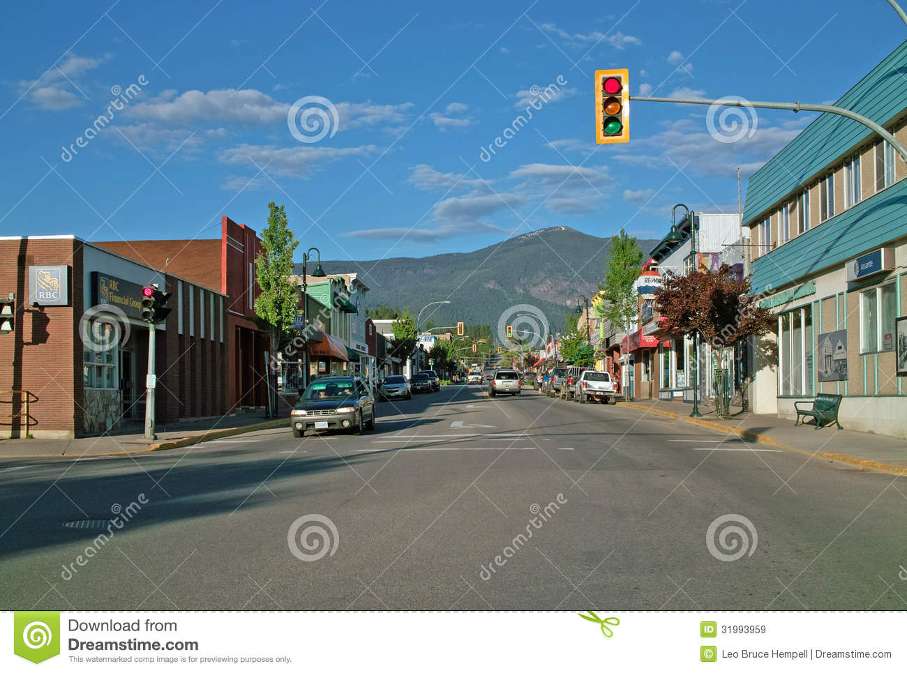 Creston (BC) Canada  city photo : Downtown Creston BC, Canada. Editorial Stock Image Image: 31993959