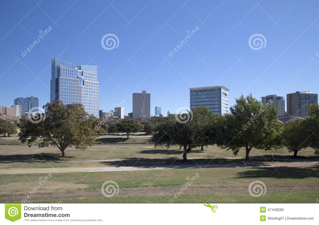 Downtown of Fort Worth