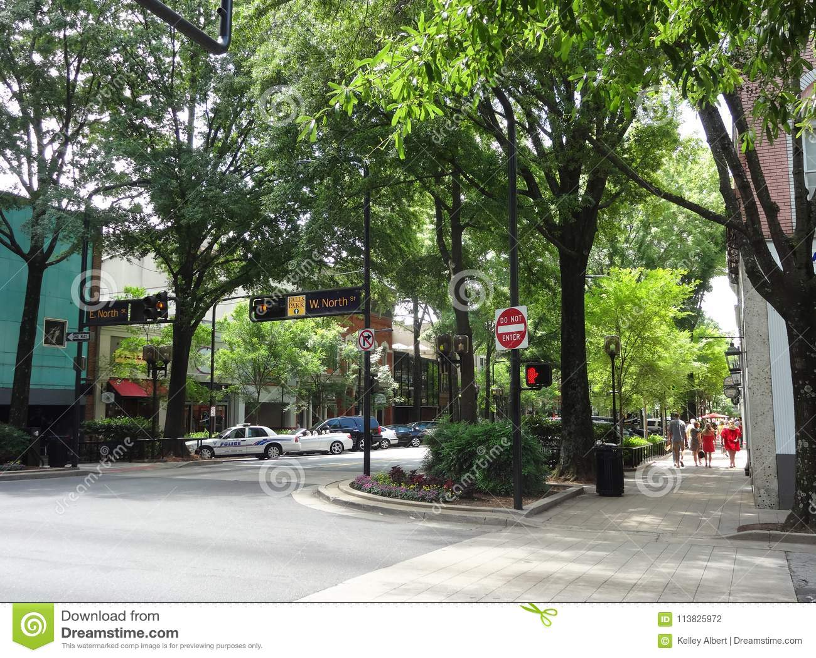 Downtown Greenville, South Carolina
