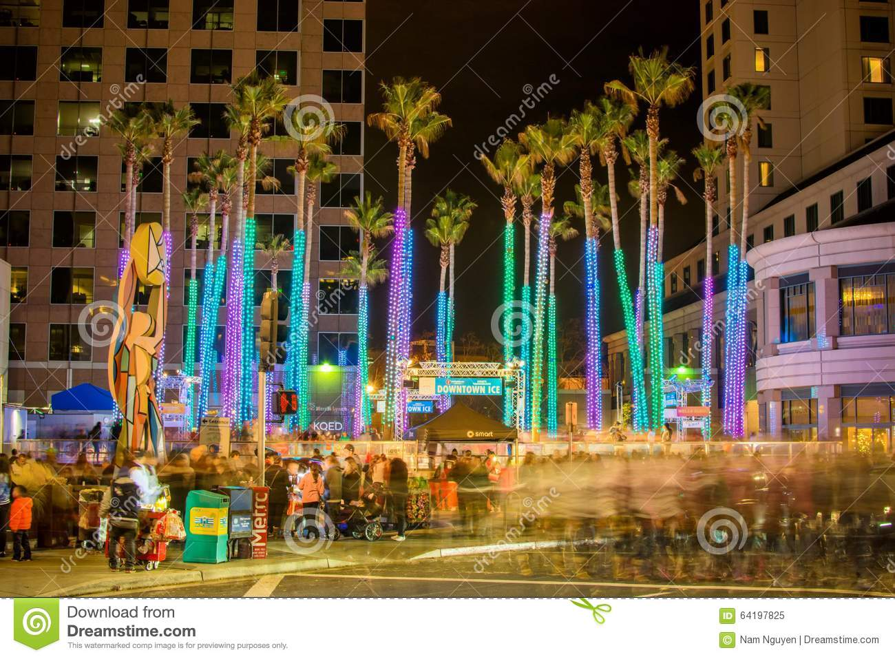 downtown ice in san jose - When Does Christmas In The Park Open