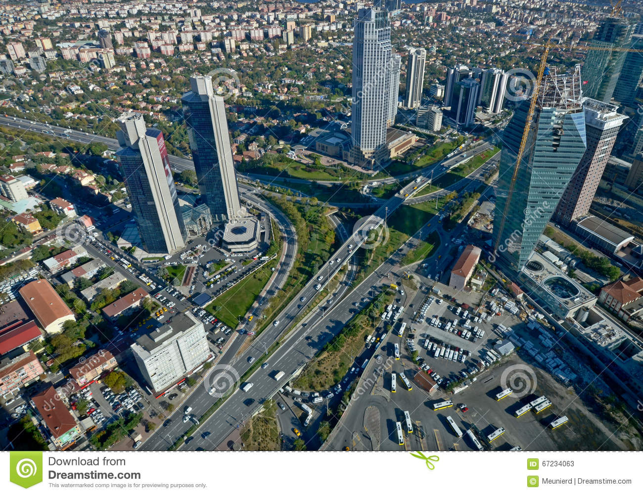 Downtown Istanbul Editorial Stock Photo  Image Of