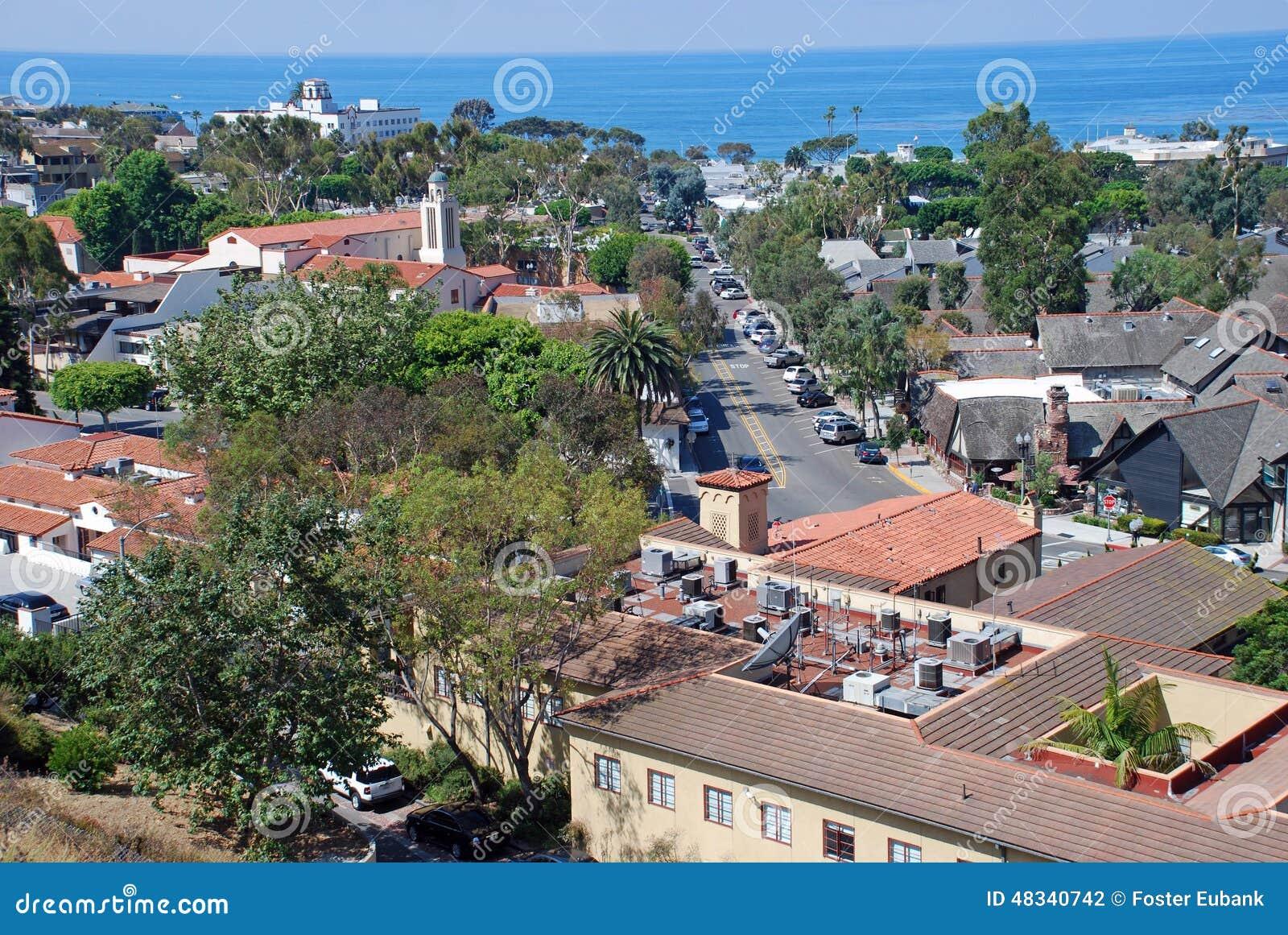 Ocean Avenue Laguna Beach