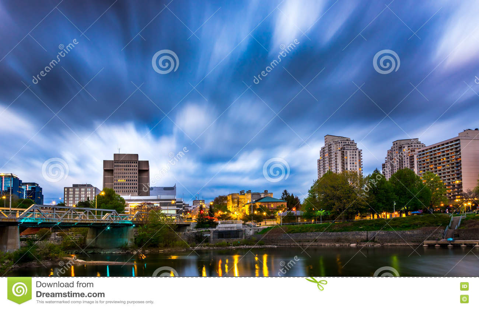 Downtown London Ontario Canada Stock Photo Image 71416810