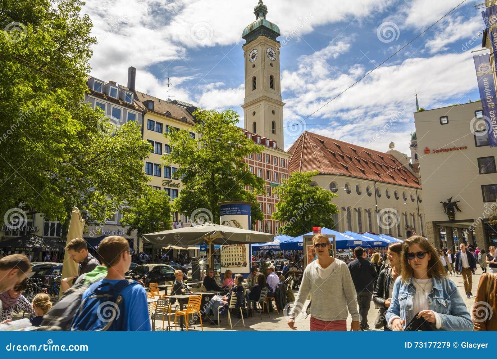 Munich Germany July 30 2015 Typical Charming City