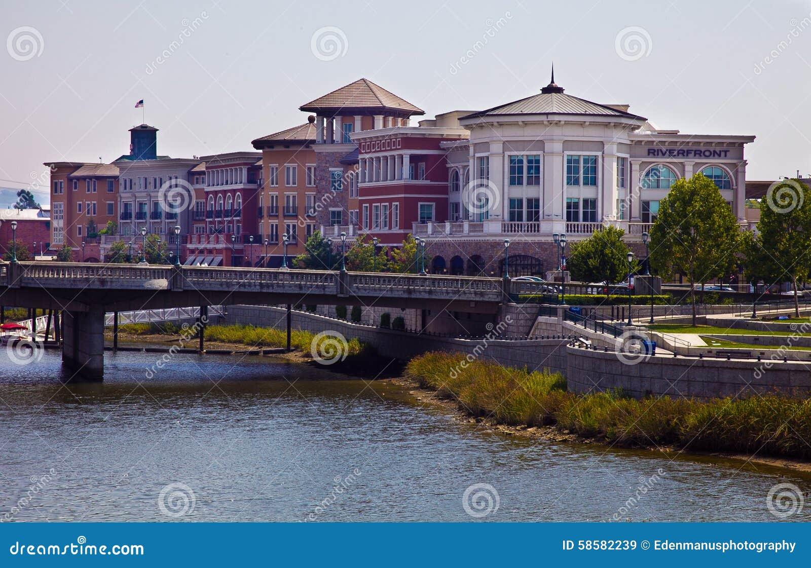 Downtown Napa Riverfront Buildings
