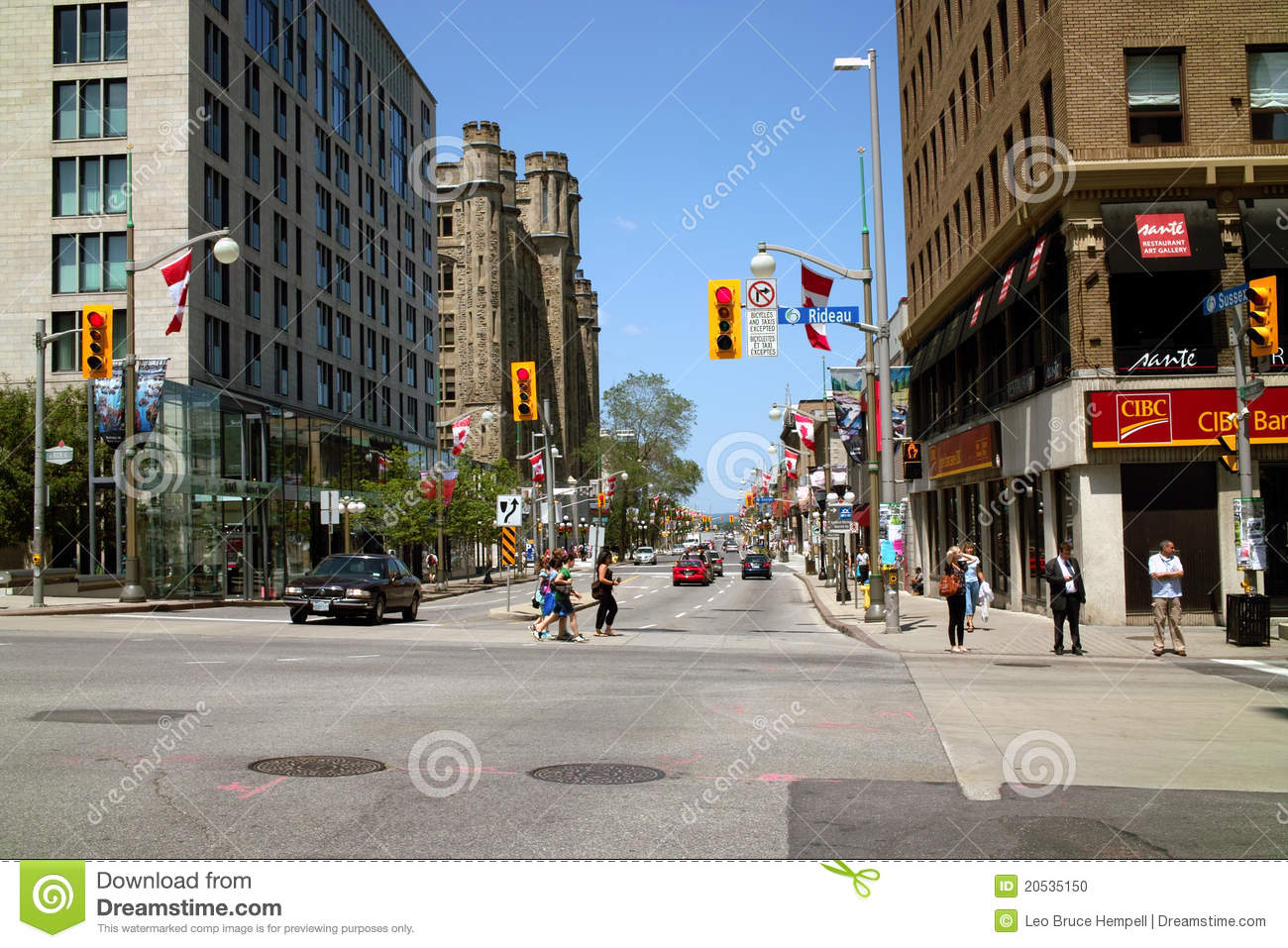 downtown ottawa ontario canada editorial image image of people