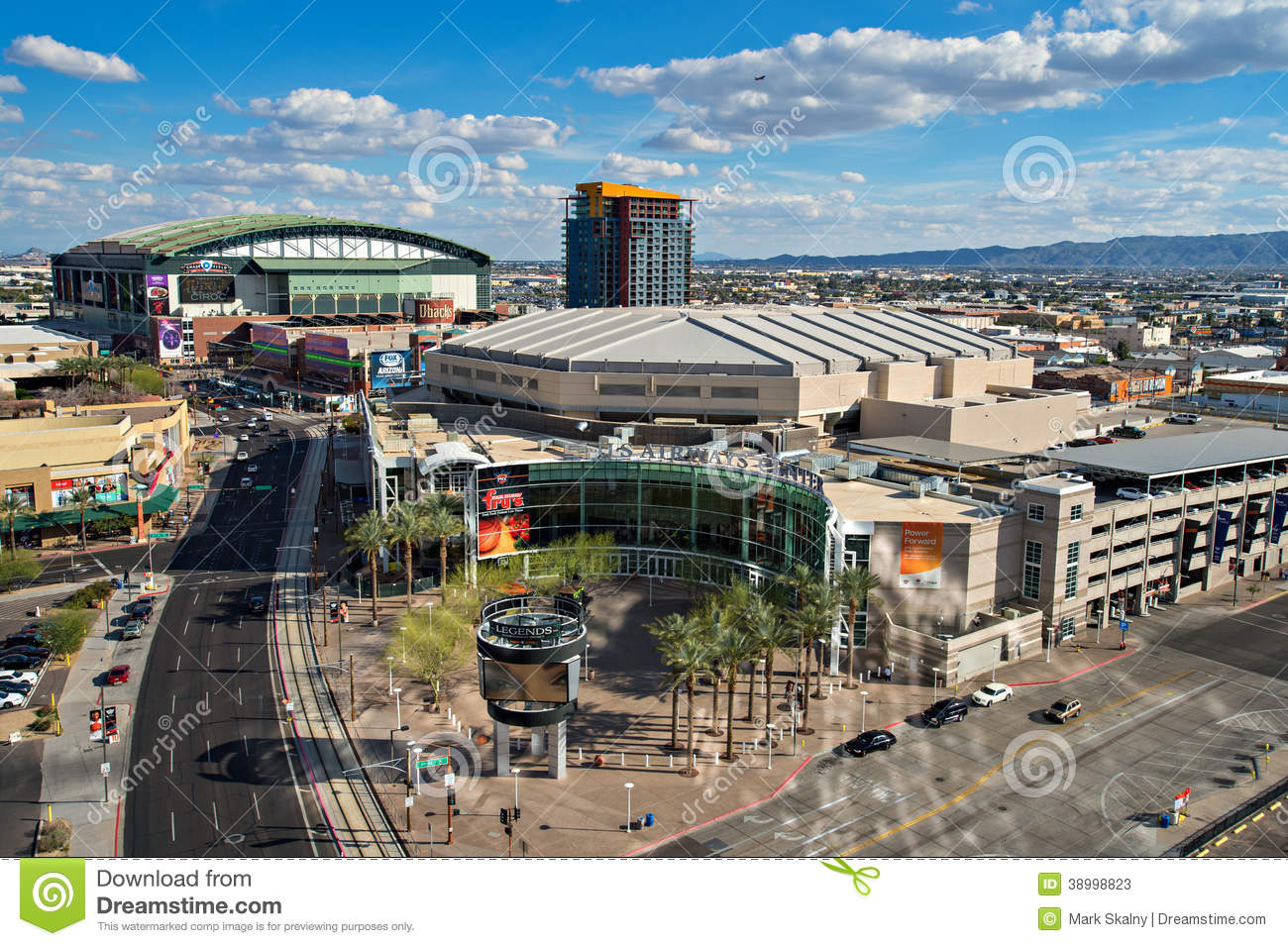 Downtown Phoenix, Arizona Editorial Stock Photo - Image: 38998823