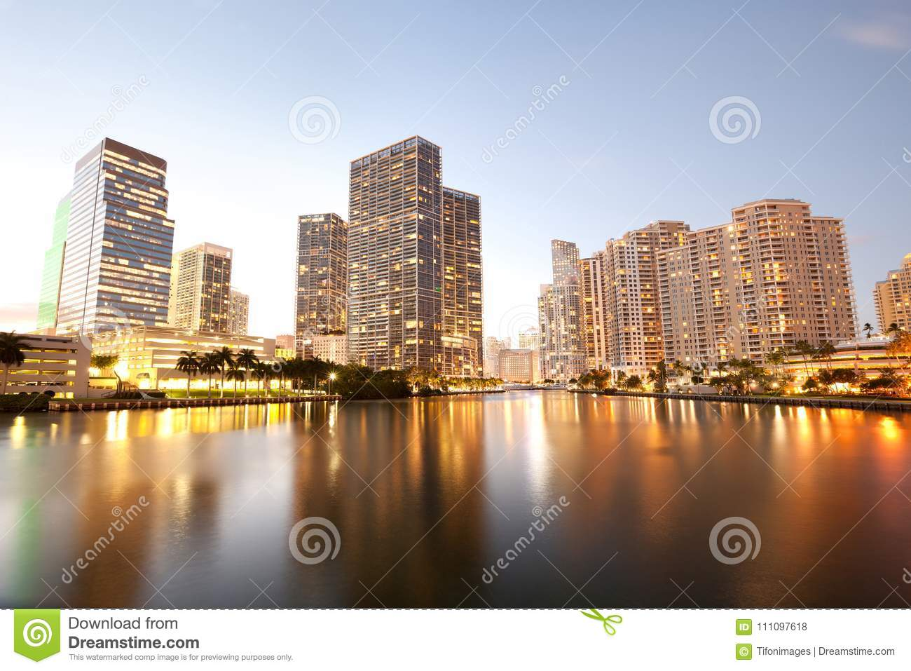 Downtown and real estates developments at Brickell Key