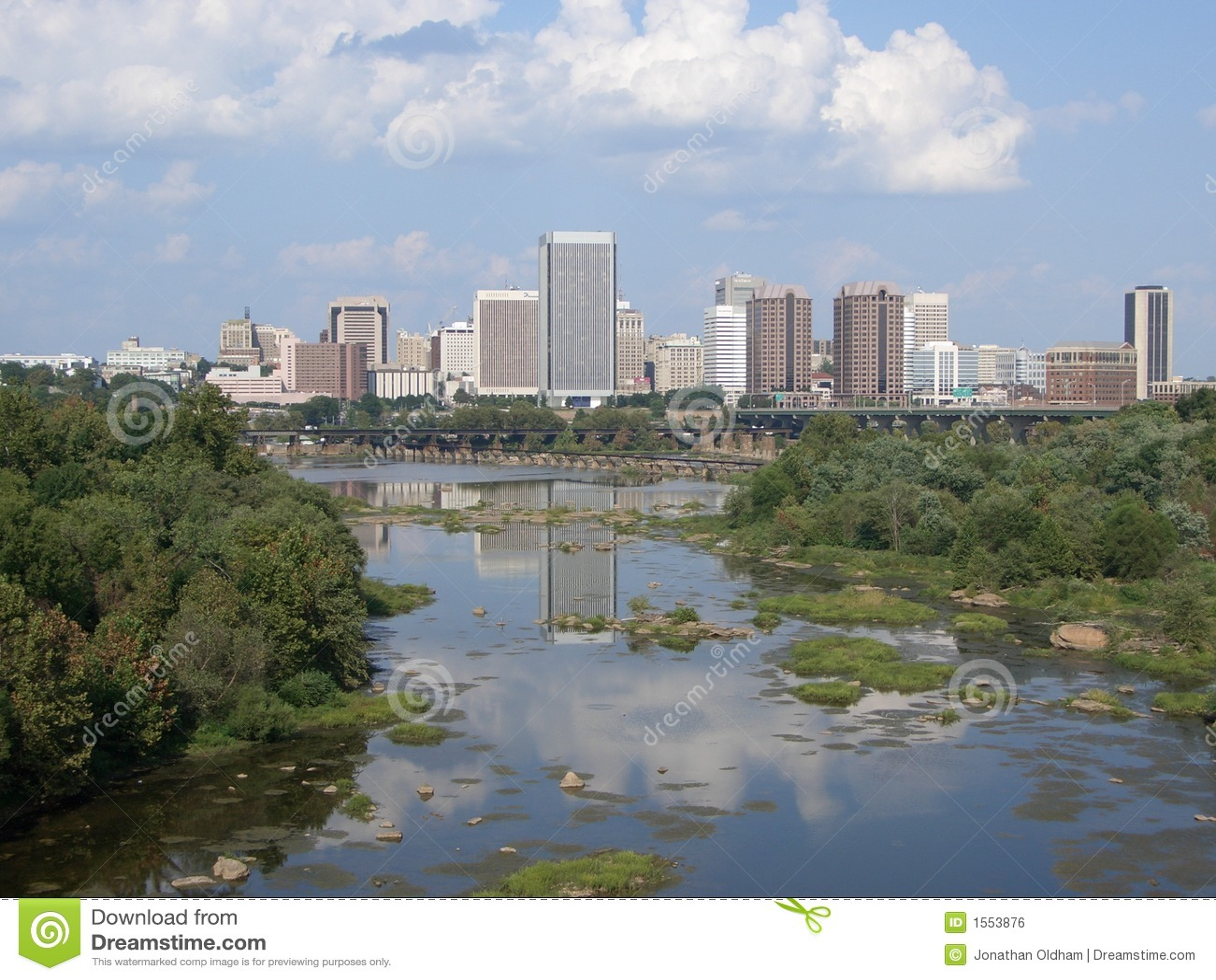 Downtown Richmond Virginia