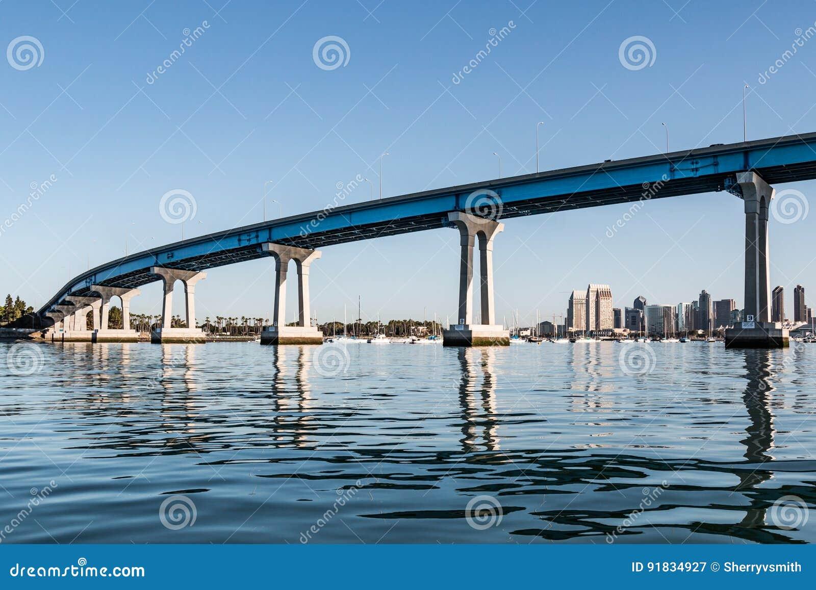 Downtown San Diego and Coronado Bridge