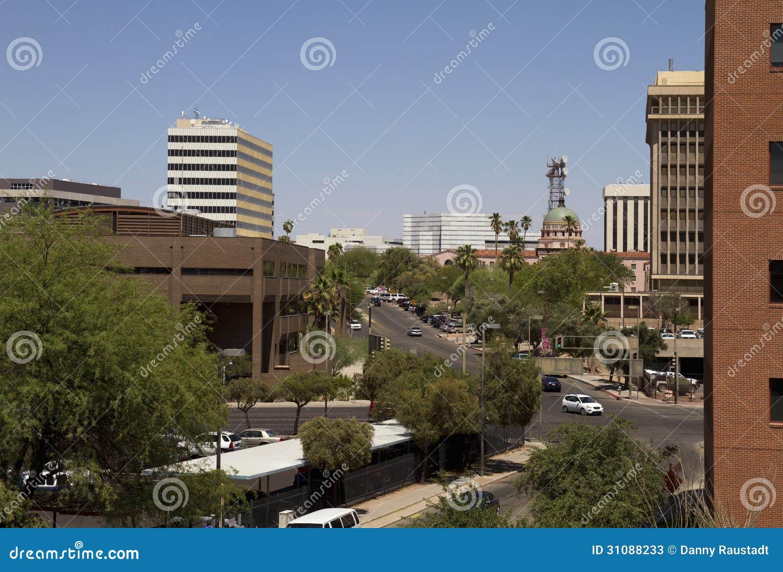 downtown tucson arizona stock photos