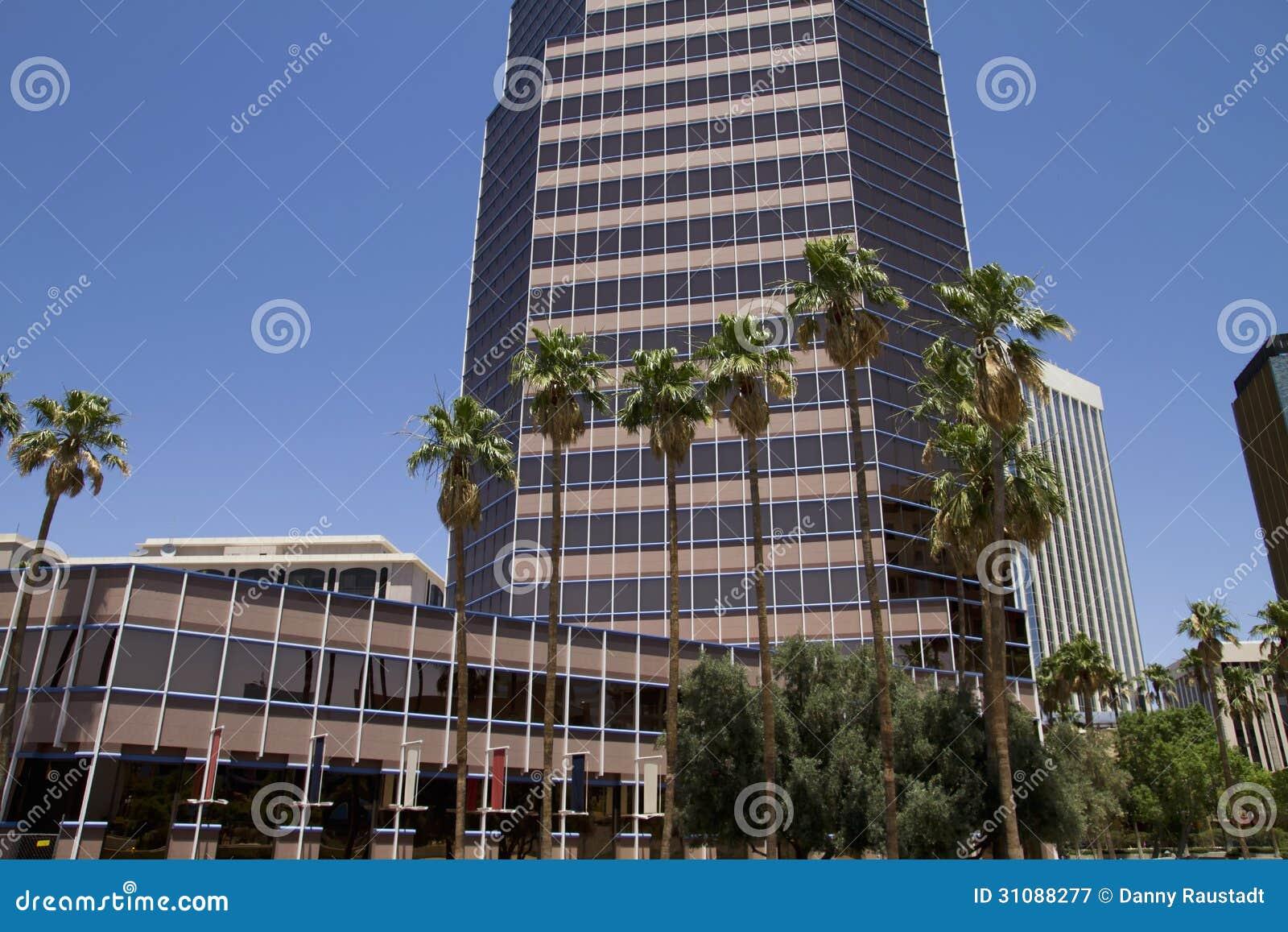 downtown tucson arizona royalty free stock photography