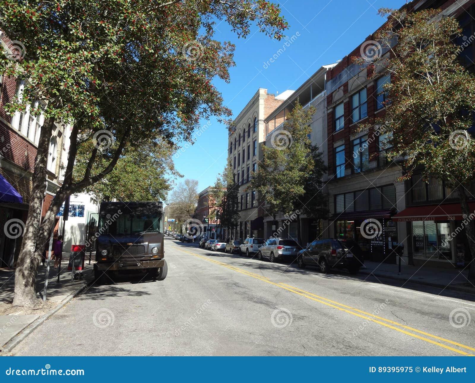 Downtown Wilmington North Carolina Editorial Image Image Of