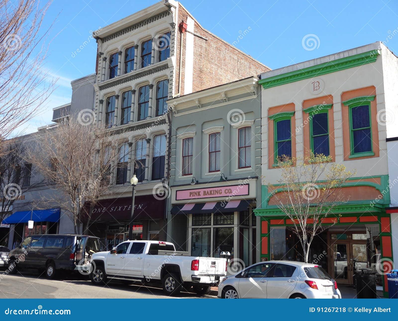 Downtown Wilmington North Carolina Editorial Stock Photo Image Of